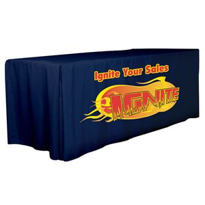 4 Sided 6' Fitted Style Table Cover