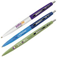 The BIC Clic Pen is a simple classic, available in many colors