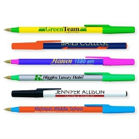 With the Round Stic pen, you can mix and match colors