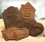 Bite into your brand with custom molded chocolate gifts