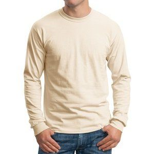 Gildan 6.1 oz. Ultra Cotton® Long Sleeve T-Shirt - printed