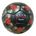 Rich colors make a custom soccer ball stand out