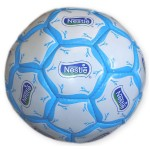 Your logo has room to shine on a custom soccer ball