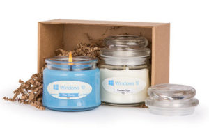 candle gift set- fall gear up