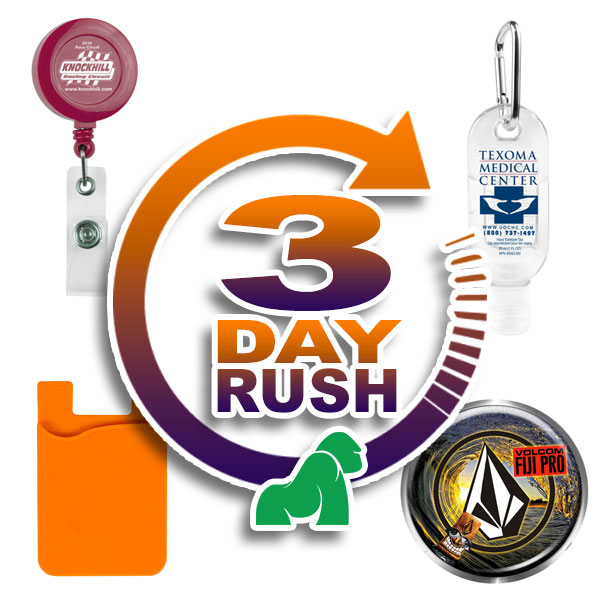 Three Day Rush Items